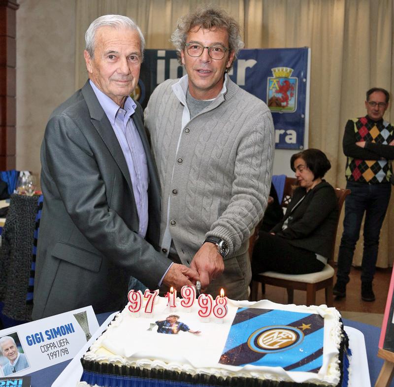 Gigi Simoni e Checco Moriero