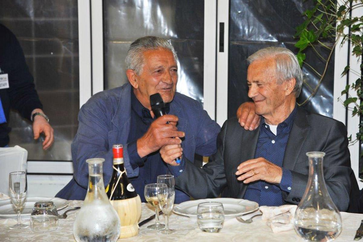 Con Corrado Orrico