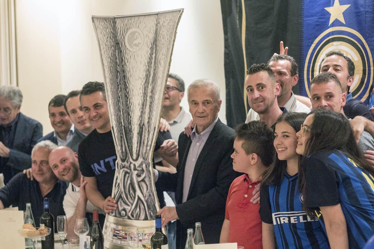 Simoni si Nasce presentato all'Inter Club di Filottrano (AN)