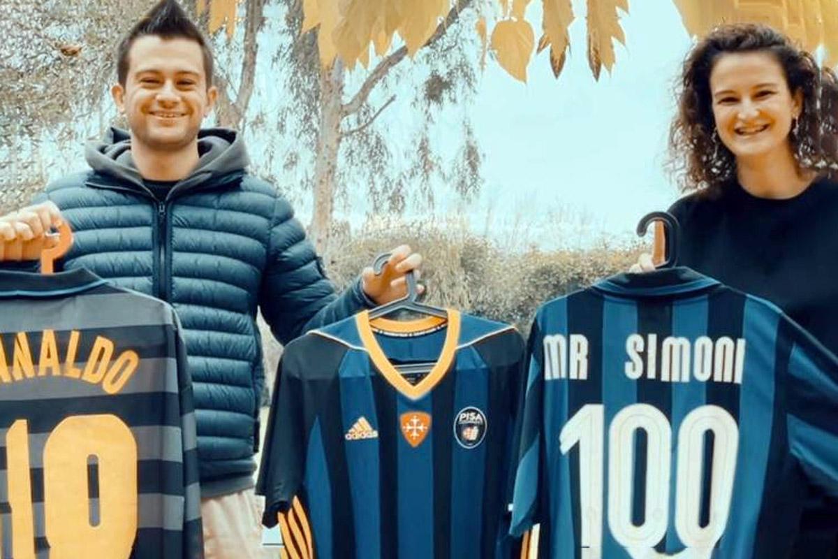 Lisa Carmignani con Leonardo Simoni